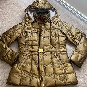 Baby phat gold/bronze coat